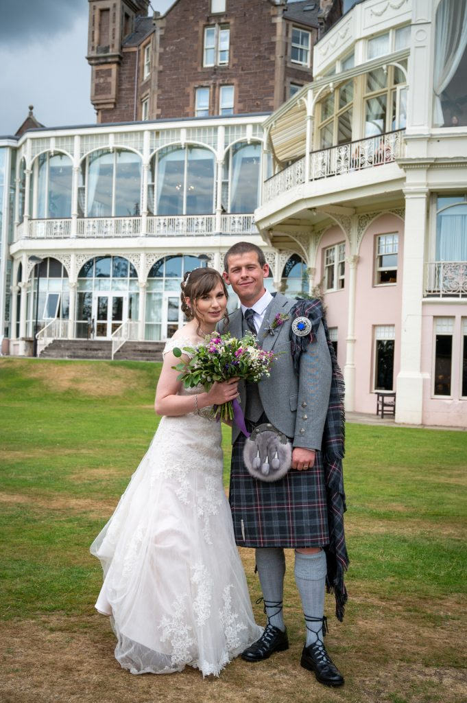 Jenna and Connor at Crieff Hydro 7